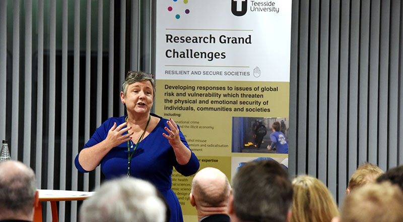 Professor Dorothy Newbury-Birch. Link to Evidence-based alcohol education will have positive impact on young people's lives.