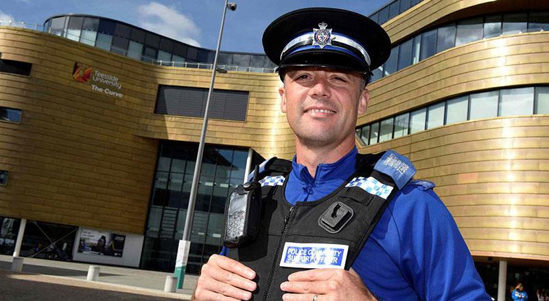 Jonny Severs, Police Community Support Officer