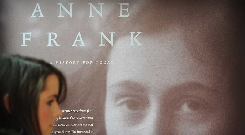 The Anne Frank: A History for Today exhibition on show at Teesside University gives viewers a greater understanding into the consequences of war.