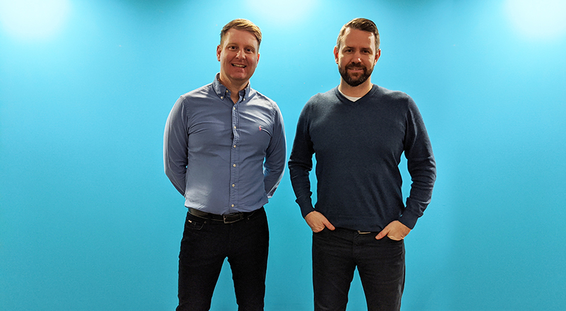 Tom Howsam, Founder of Paid and Ben Kenyon, Director of North Cyber Security. Link to Award-winning FinTech organisation remains one step ahead with North Cyber Security support.