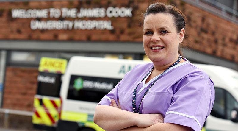 Link to National nursing award nomination for midwifery graduate.