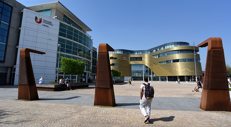 Staff at Teesside University are preparing to welcome students back to campus