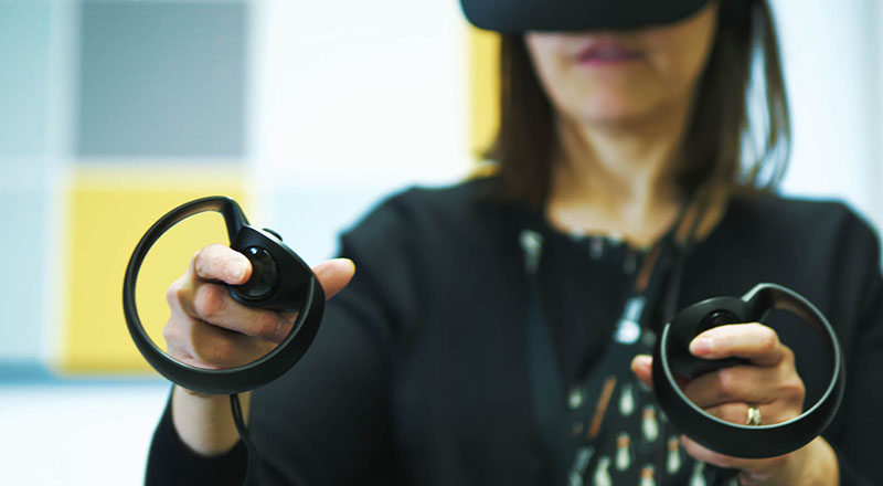 Link to Virtual reality solutions helping to improve bioscience training.