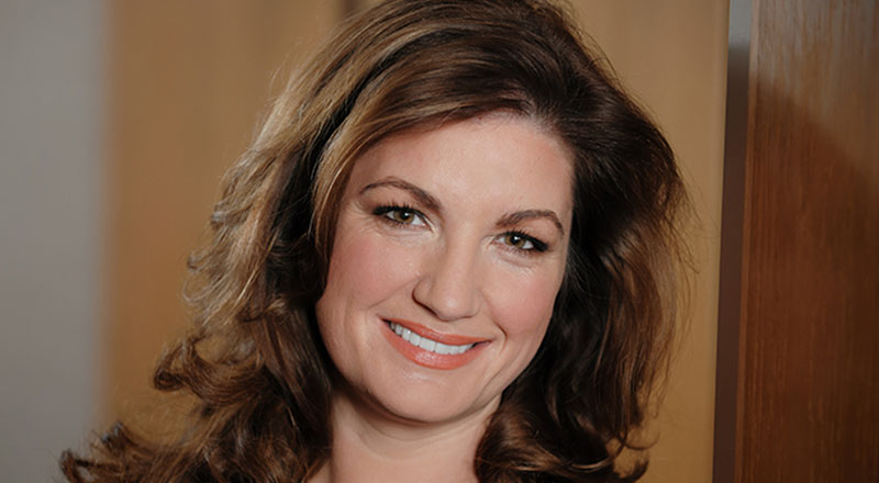 Baroness Karren Brady who spoke at Teesside University's latest Business Exchange event.