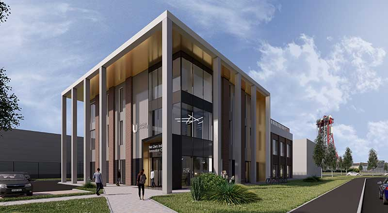 Net Zero Industry Innovation Centre (NZIIC). Image credit: GSSArchitecture and 3DLABS