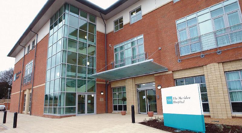 BMI The Meriden Hospital, Coventry