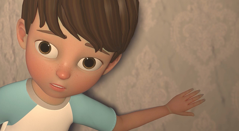 A still from animated film Otherwhere