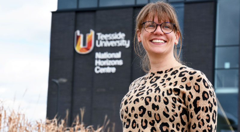 Director of the National Horizons Centre, Dr Jen Vanderhoven