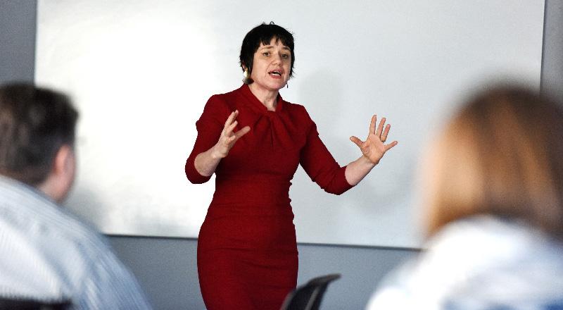 Siobhan Fenton, Associate Dean (Enterprise and Business Engagement) in the School of Computing, Engineering & Digital Technologies