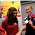 Olympic champion Kat Copeland met Teesside University Elite Athletes