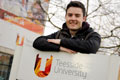 Link to Teesside University student engineers bright future.