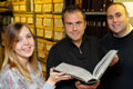 Ami, Rob and Matthew at Teesside Archives