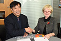 Link to Teesside University forges new links with Xiangsihu College.