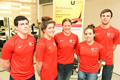 Ruaridh Cuthbertson, Jade Jones, Jen Howse, Steph Blakeburn and Jack Crosby are all on the Teesside University Elite Athlete Scheme.