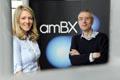amBX design lead Melissa Lara with Professor Paul van Schaik.