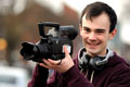 Tom Burton, pictured during his time on the BA (Hons) Media Studies at Teesside University
