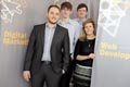 bSoftware Solutions - Shaun Brereton (far left) with (left to right) Ryan Walker, Liam Innes and Beverley Griffiths.