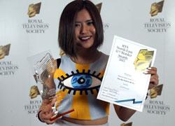Royal Television Society regional award winner Jing Zhao