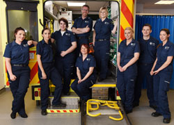 The BSc (Hons) Paramedic Practice cohort