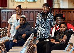 Kudzi Chinowata, Sean Chidanyika, Locardia Chidanyika, Joe Chidanyika and Tanisha Chidanyika.