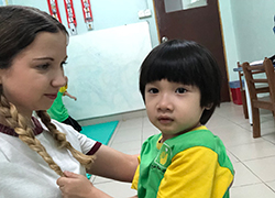 Jess Hall worked in a special educational needs school in Kuala Lumpur.