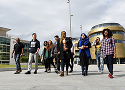 International students at Teesside University