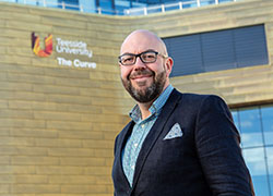 Lee Bramley, Teesside University graduate and Managing Partner of Endeavour Partnership.