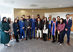 Outstanding international students receive scholarship boost
