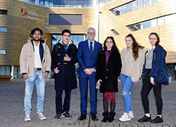 International students put Teesside University at the top in