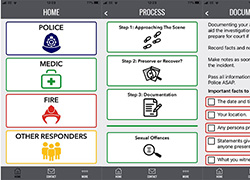 Innovative new app will help preserve crime scene evidence