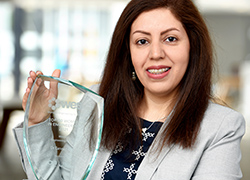 Prestigious recognition for engineering academic