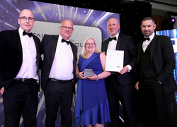 Teesside University celebrates winning Client of the Year