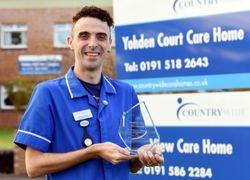 Nursing student wins prestigious care award
