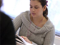 Teesside University student