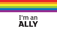 Download the I'm An Ally badge. This is an external website. The link to Download the I'm An Ally badge will open in a new window.