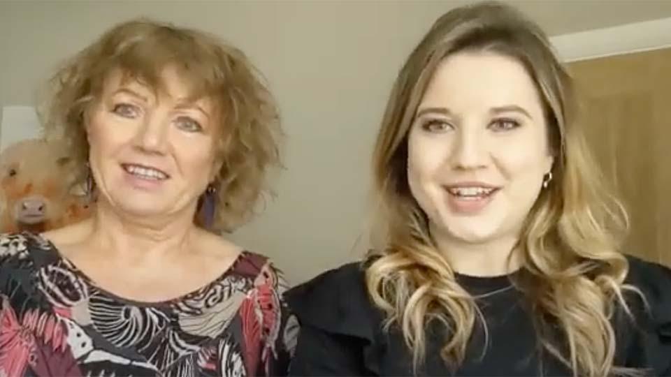 Vanessa Sharples and Victoria Legg