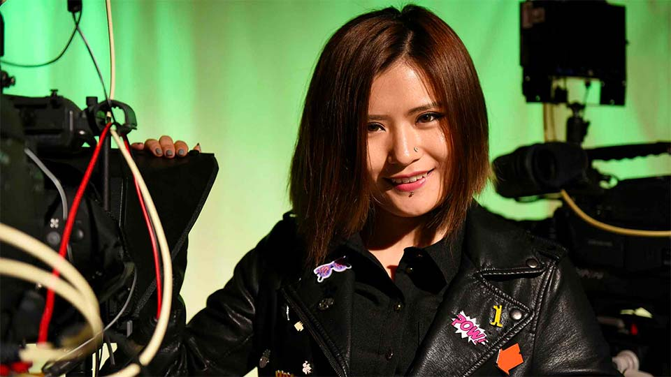 Teesside University alumna Zhao Jing, who is also known as Coco
