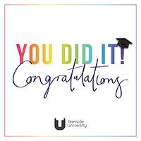 Ecard 4 - You did it, congratulations