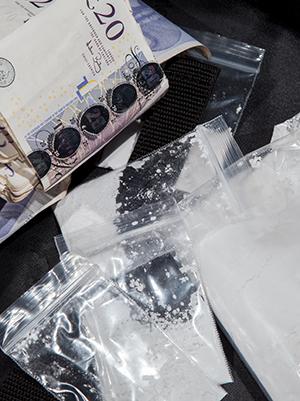 Following organised crime money