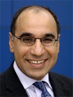 Professor Zulf Ali, Dean of the Graduate Research School