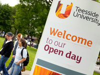 Open day on campus