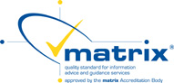 Matrix quality standard for information advice and guidance services. Link to Quality Advice From Student Services.