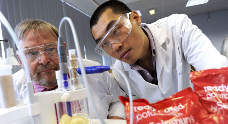 Teesside University has launched a new course to develop the next generation of food engineers.