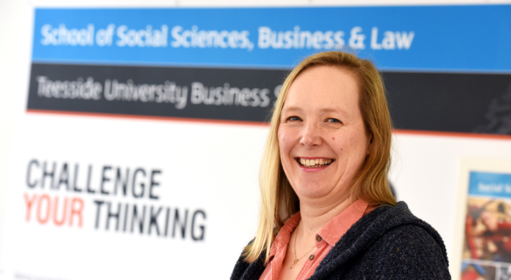 Teesside University lecturer, Kate Baucherel, who has been invited to speak at the SXSW Interactive conference.