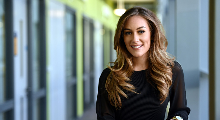 Natalie Woods, student director of DigitalCity