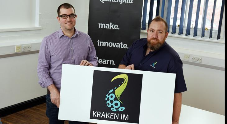 Geoff and Ian Cornwell of Kraken IM