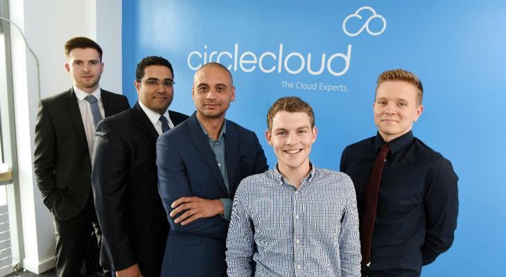 From left: Tomas Roberton, Eslam Khedr, Michael Povey, Daniel Cairney, Andrew Ballantyne