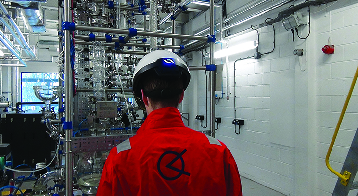 Teesside University is teaming up with Orema to develop augmented reality solutions for engineering maintenance issues.