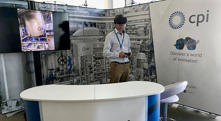 CPI's exhibition stand will give people the opportunity to experience its world-leading Industrial Biotechnology and Biorefining facility through a 360° virtual reality tour