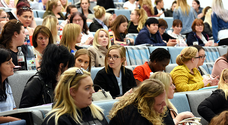 Delegates at the Discover Oncology student conference,